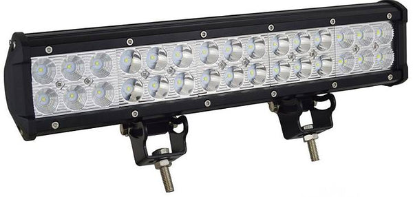 LED Lys bro / lys bar 90 watt 12/24 volt, 4D + 5D linser