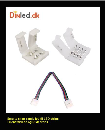 Snap samleled til LED strips