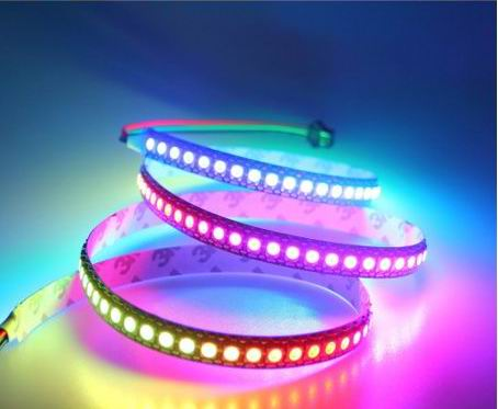 Image of   5 meter, 12 volt, 60 watt, IP20, 300 LED, RGBW / RGBWW LED strip
