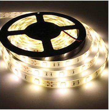 Image of   5 Meter, 12 volt, 24 watt, 1800 lumen, IP65, 300 LED, VANDTÃâ€T Led strip