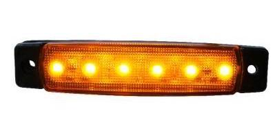 Image of   6 LED markeringslygte, 24v