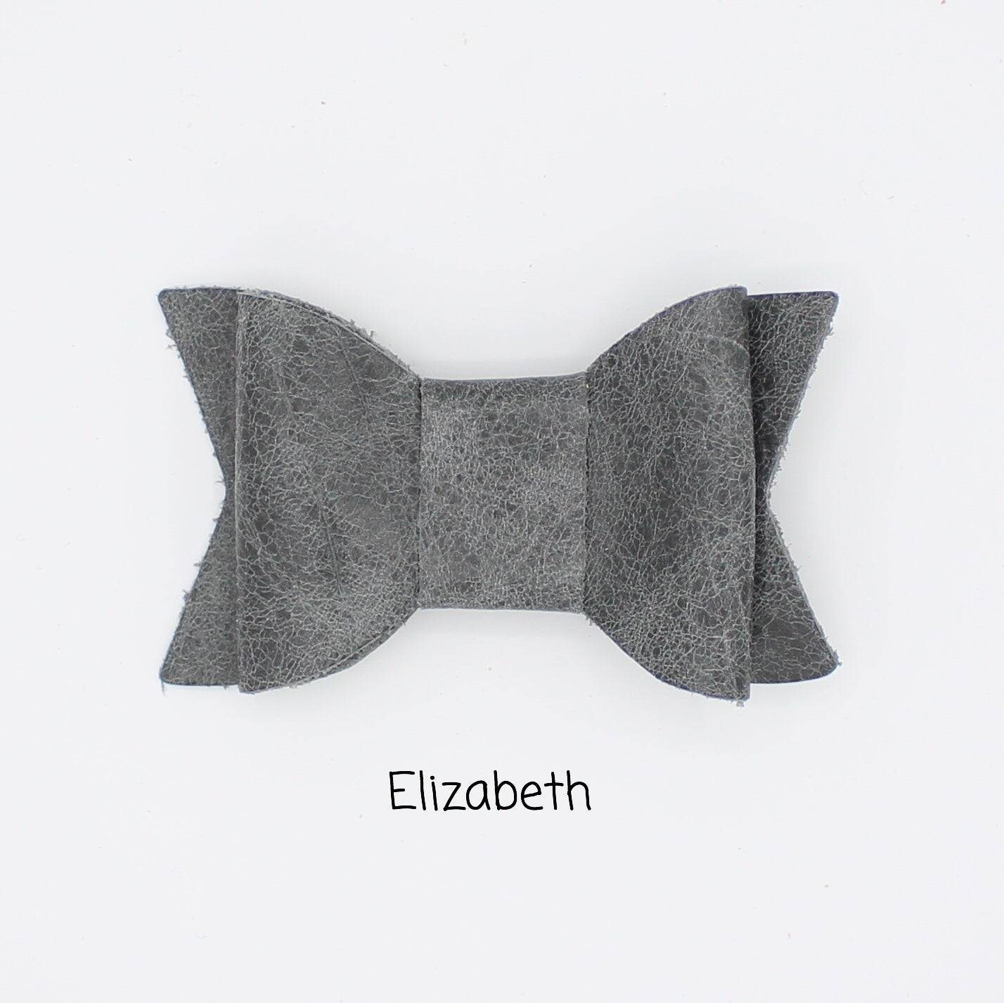 Weathered Grey Bow - Posh Panda