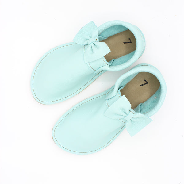 Ladies Marie Mocs - Aqua