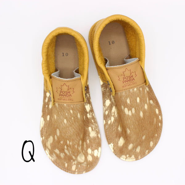 Limited Edition Hair Hide Mocs - SIZE 10