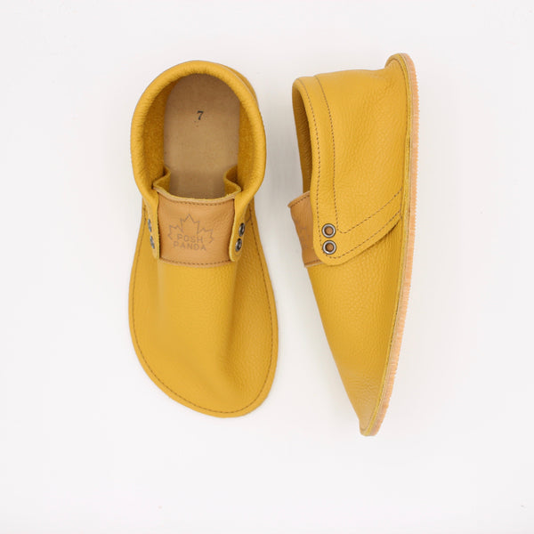 Ladies Hampton Mocs - Mustard