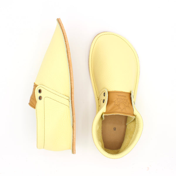 Ladies Hampton Mocs - Lemon Drop