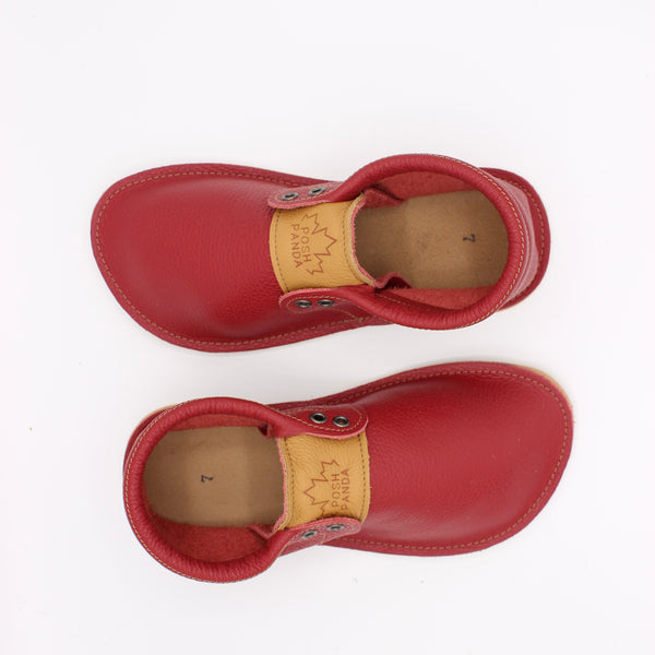 Ladies Hampton Mocs - Red