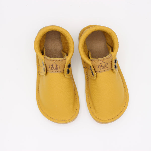Toddler/Youth Hampton Mocs - Mustard