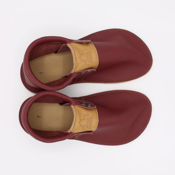 Ladies Hampton Mocs - Merlot