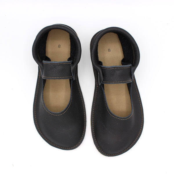 Ladies Mary Jane Mocs - Black