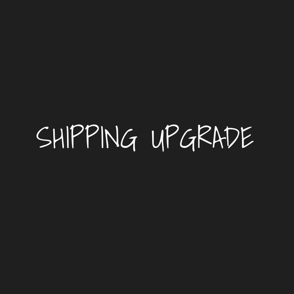Shipping upgrade - Posh Panda