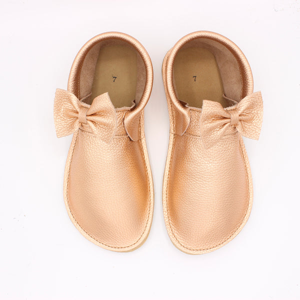 Ladies Marie Mocs - Rose Gold