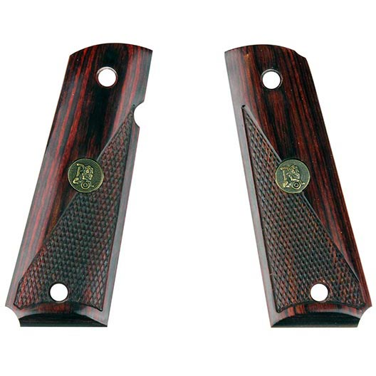 Pachmayr American Legend Series 1911 Govt. Half-Checkered Rosewood