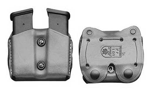 DeSantis Gunhide Double Magazine Pouch Double Stack 9mm Luger and .40 S&W Magazi