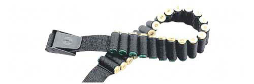 "Uncle Mikes Cartridge Belt 25 Loops Fits 50"" Waist Black"