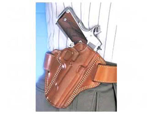 "Galco Combat Master Belt Holster 1911s 5"" Barrels Right Hand Leather Tan CM212"