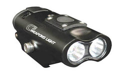 Lucid C3 Weapon Light 300 Lumens LED White Light CRE XPE2 Picatinny Mount AAA Ba