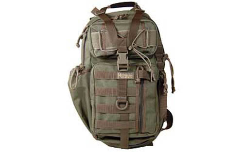 "Maxpedition Gearslinger Sitka Backpack 15""x8""x3"" Nylon Foliage Green"