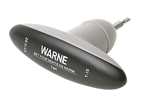 Warne 25In/Lb T-15 Torque Wrench TW1