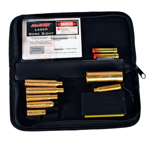 AimSHOT KT-Master Green Laser Bore Sight Master Rifle Kit