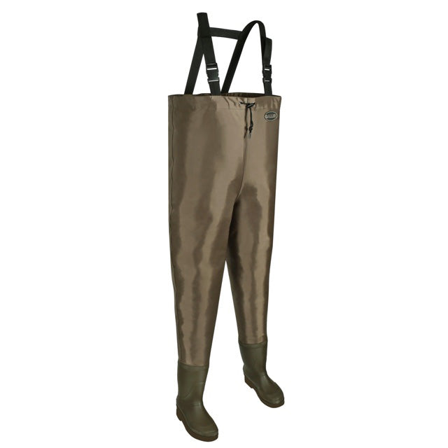 Allen Brule River Bootfoot Chest Waders with Cleated Soles - Size 7