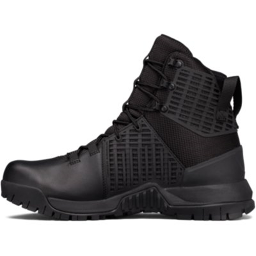 UA Stryker Tactical Boots - Black - Size 10