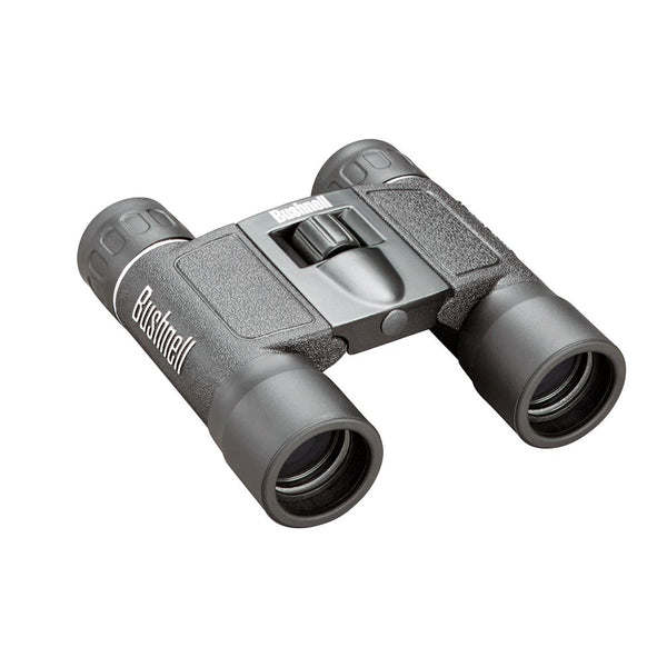 Bushnell Powerview 10x25mm Binoculars Black Roof Prism Compact Box