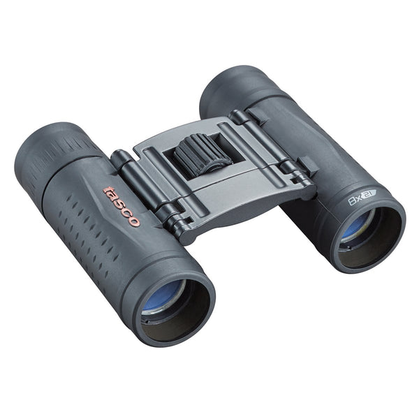 Tasco Essentials (Roof) Binoculars - 8x 21mm Compact - Black