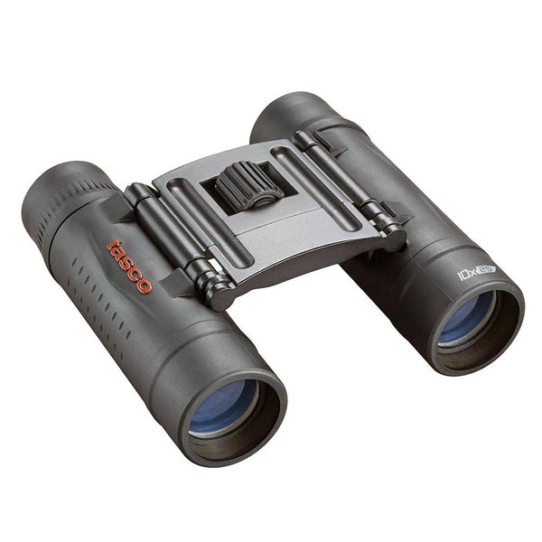 Tasco Essentials (Roof) Binoculars - 10x 25mm Compact - Black