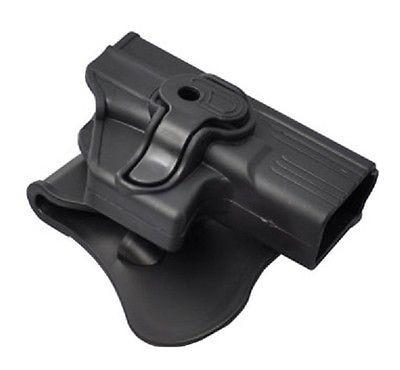 Cytac® Open-Top Black Right handed Paddle Retention Holster Fits GLOCK 19/23/32