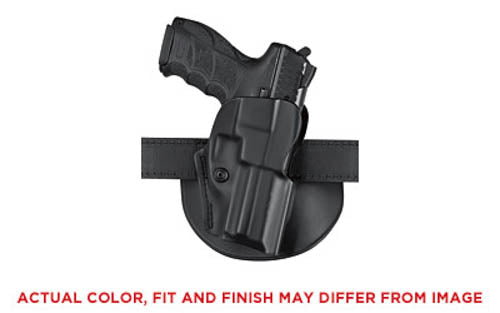 Safariland Model 5198 FN FNS-9/40 Open Top Paddle Holster Right Hand Laminate Bl