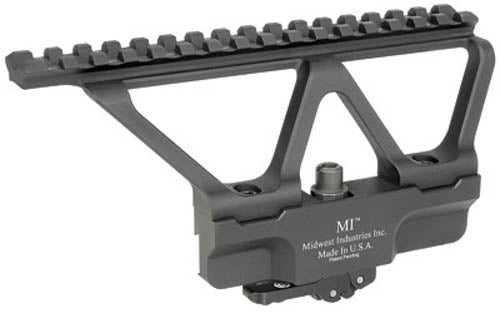 Midwest Industries AK Gen2 Scope Side Mount Picatinny Top Rail Elite Defense Qui