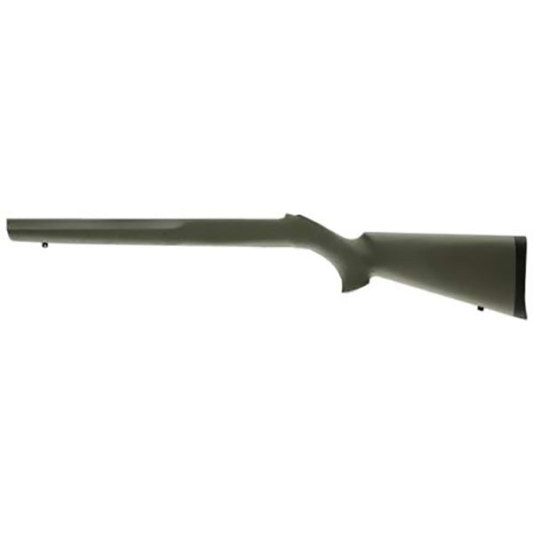 Hogue Ruger 1022 Rubber OverMolded Stock 920inch Dia Barrel Channel OD Green