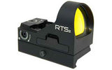 C-More Systems RTS Red Dot 6 MOA Dot One MOA Clicks Picatinny Mount Aluminum Bla