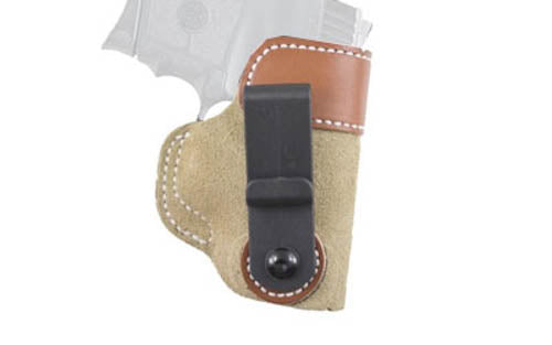 DeSantis 106 S&W Bodyguard .380 Sof-Tuck Inside the Pant Right Hand Leather Tan