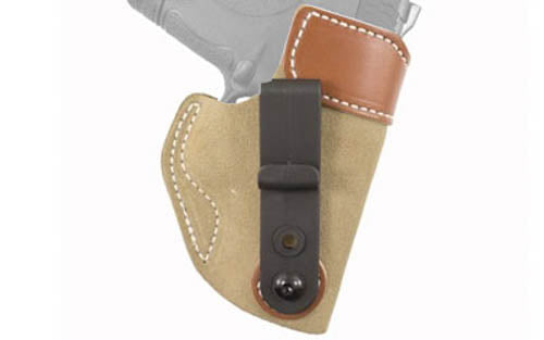 Desantis Sof-Tuck Inside the Pant for SR9c and S&W Shield Right Hand Natural Sue