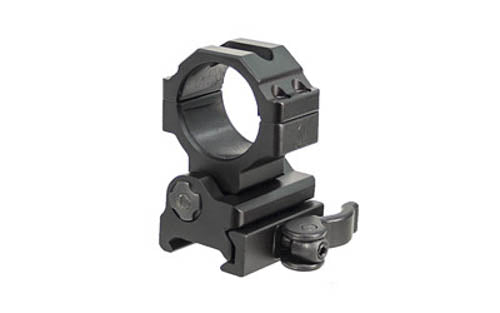 Leapers UTG 30mm Flip-to-Side QD Ring Mount Black RG-MF30QS