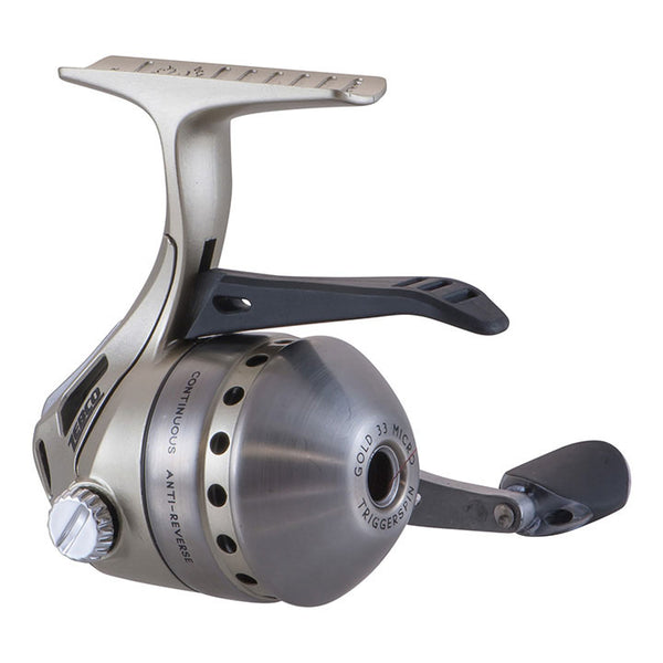 ZEBCO *ZS4064* 33MICRO GOLD TRIGGERSPIN REEL W/4#