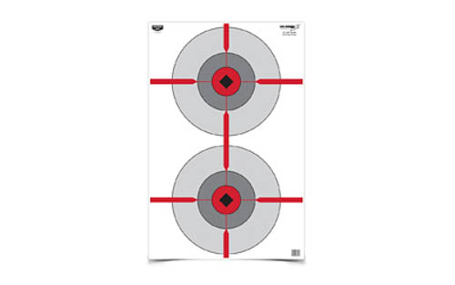 "Birchwood Casey Eze-Scorer 23""x35"" Double Bulls Eye Paper Target Indoor/Outdoor"