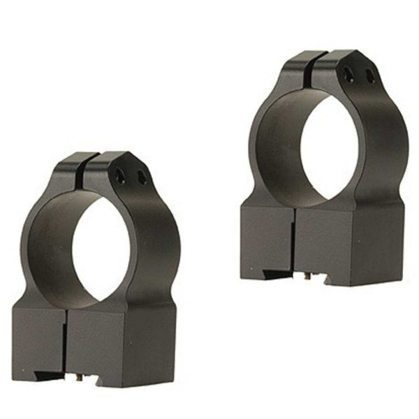 Warne 1 inch Tikka Permanently Attached - High Matte Rings