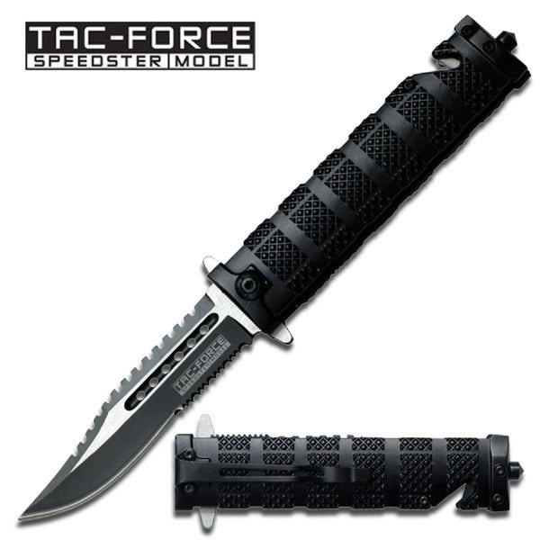 Tac-Force Asssisted 3.5 in Blade Aluminum Handle