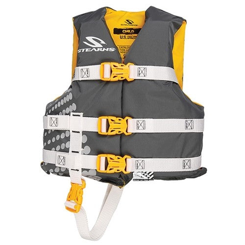 Stearns Pfd 3004 Child Opp Nylon Gold 3000002197