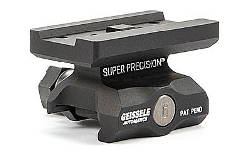 Geissele Super Precision Aimpoint T-1 Optic Mount Lower 1/3 Co-Witness Black 05-