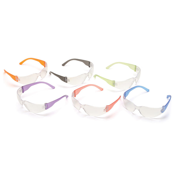 Pyramex Mini Intruder Multi-Color Mini Safety Glasses 12 Pk