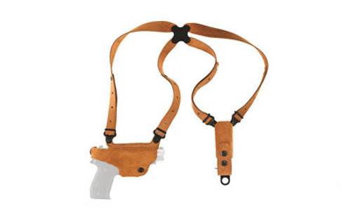 Galco Classic Lite S&W M&P Shield Shoulder Holster System Right Hand Steerhide N