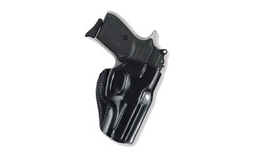 Galco Stinger GLOCK 43 Belt Holster Right Hand Leather Black SG800B