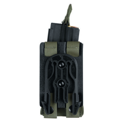 MLS Black Accessory Fork on Small MOLLE Plate