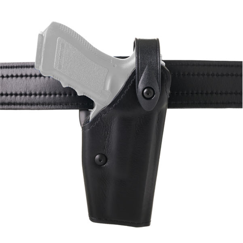 Mid-Ride Level II SLS Duty Holster Finish: STX Tactical Black Gun Fit: Colt M45A1 CQBP Hand: Right