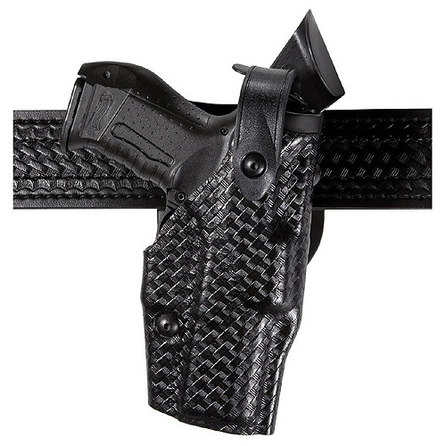 ALS Level III Duty Holster Finish: STX Tactical Black Gun Fit: Springfield XD(M) 9mm (4.5  bbl) Hand: Right Option: Hood Guard Size: 2.25