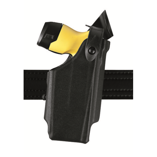 SLS EDW Level II Retention Duty Holster w/ Clip Finish: STX Tactical Gun Fit: Taser X3 Hand: Right Option: No Hood